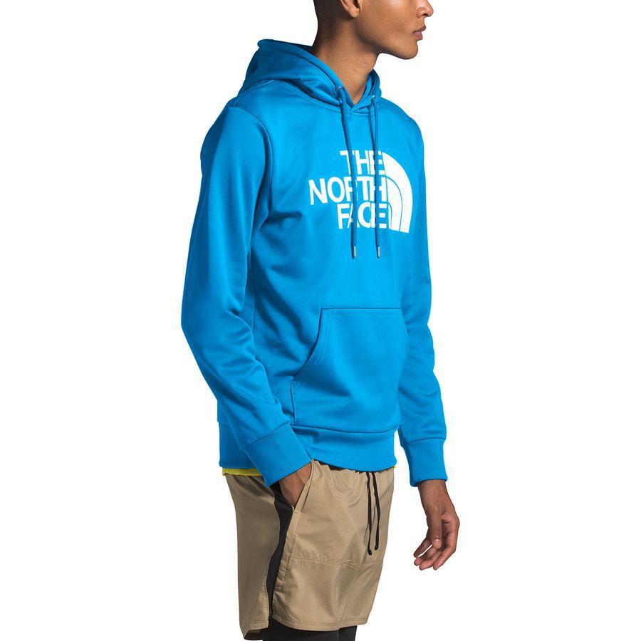 【エントリーでポイント10倍】(取寄)ノースフェイス メンズ ニュー Surgent ハーフ ドーム プルオーバー パーカー The North Face Men's New Surgent Half Dome Hoodie Pullover Clear Lake Blue
