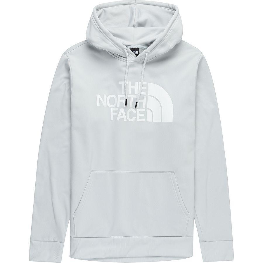 【エントリーでポイント10倍】(取寄)ノースフェイス メンズ ニュー Surgent ハーフ ドーム プルオーバー パーカー The North Face Men's New Surgent Half Dome Hoodie Pullover Tin Grey