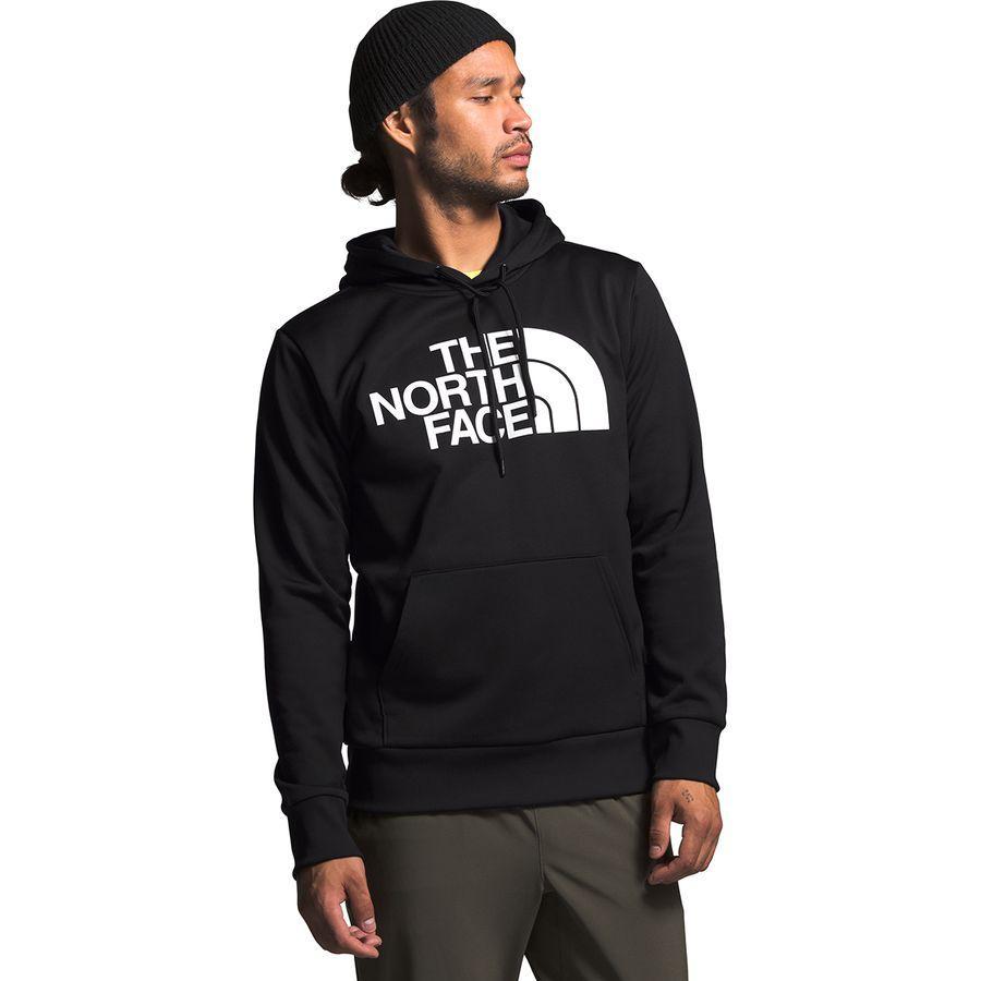【エントリーでポイント10倍】(取寄)ノースフェイス メンズ ニュー Surgent ハーフ ドーム プルオーバー パーカー The North Face Men's New Surgent Half Dome Hoodie Pullover Tnf Black