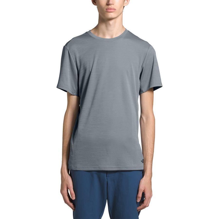 【エントリーでポイント10倍】(取寄)ノースフェイス メンズ エクスプロア シティ Short-SleeveT-Shirt- ショートスリーブ Tシャツ The North Face Men's Explore City Short-Sleeve T-Shirt Mid Grey Heather
