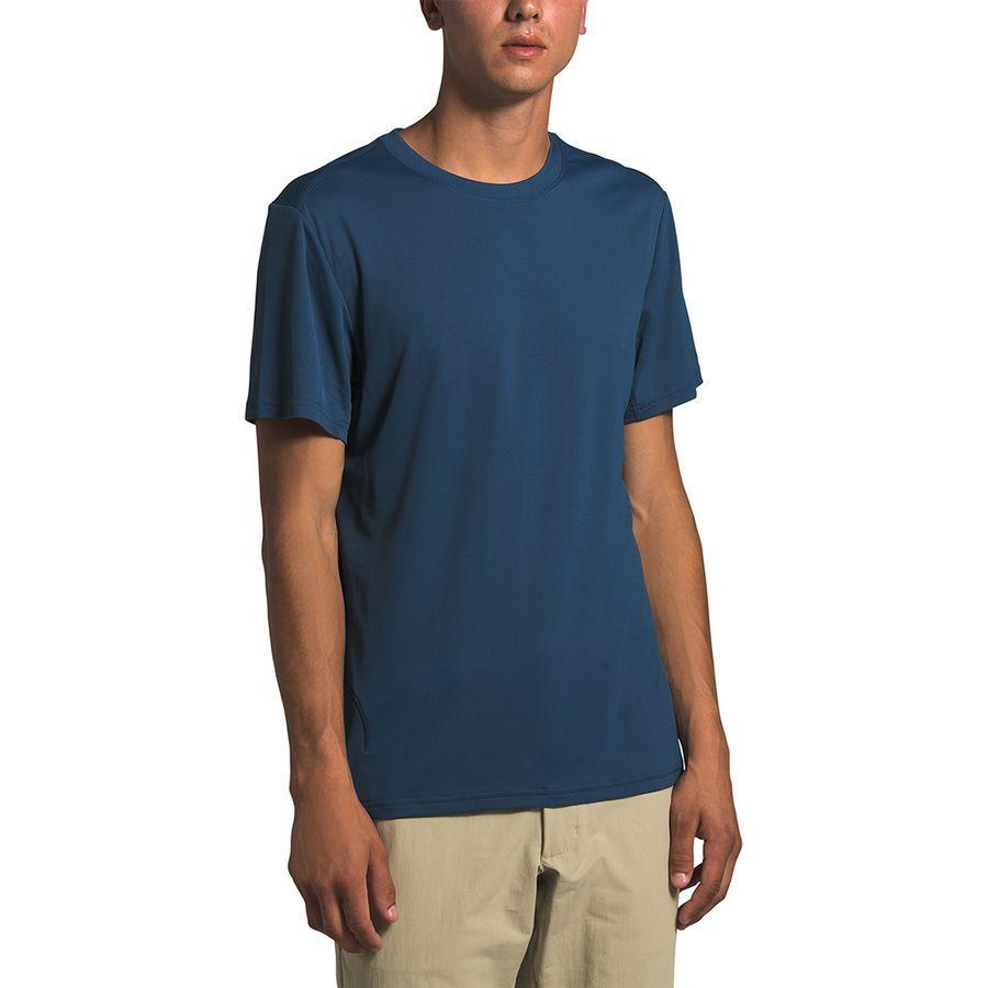 【エントリーでポイント10倍】(取寄)ノースフェイス メンズ エクスプロア シティ Short-SleeveT-Shirt- ショートスリーブ Tシャツ The North Face Men's Explore City Short-Sleeve T-Shirt Shady Blue