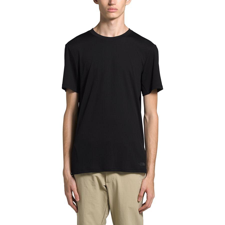 【エントリーでポイント10倍】(取寄)ノースフェイス メンズ エクスプロア シティ Short-SleeveT-Shirt- ショートスリーブ Tシャツ The North Face Men's Explore City Short-Sleeve T-Shirt Tnf Black