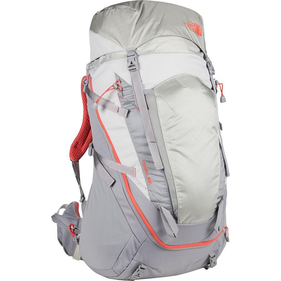 (取寄)ノースフェイス レディース テラ 65L バックパック The North Face Women Terra 65L Backpack High Rise Grey/Mid Grey