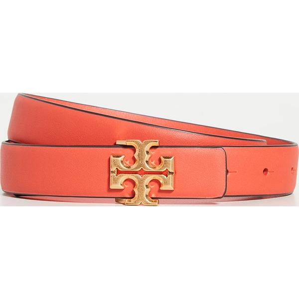 (取寄)トリーバーチ キラ ロゴ ベルト Tory Burch Kira Logo Belt BrightSamba Gold