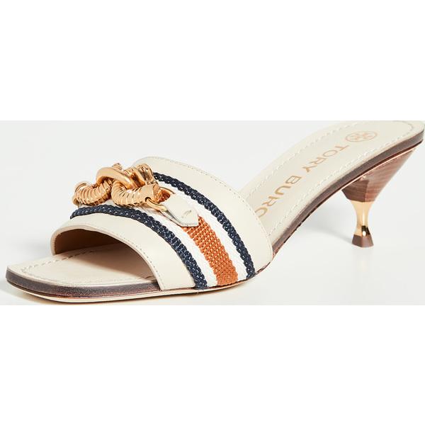(取寄)トリーバーチ レディース 55mm ジェッサ サンダル Tory Burch Women's 55mm Jessa Sandals DulceDeLeche TanMulti
