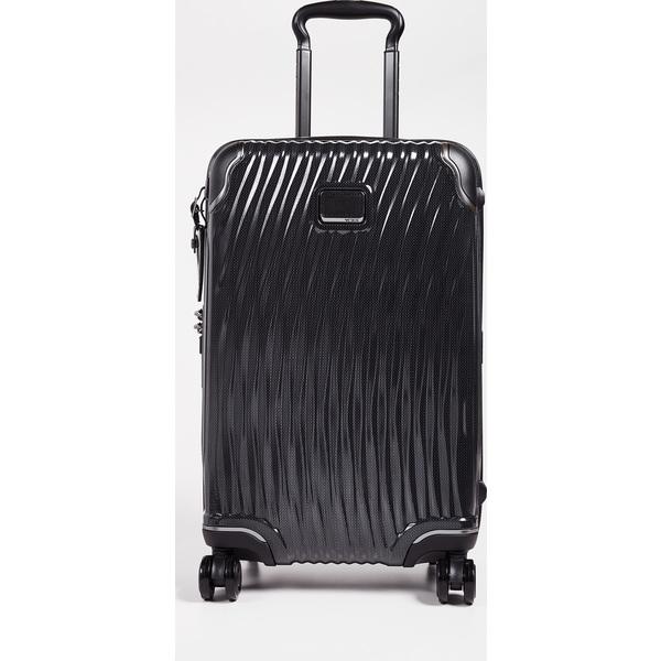 (取寄)トゥミ ラティテュード インターナショナル インターナショナル キャリー オン スーツケース Tumi Latitude International Carry On Suitcase Black