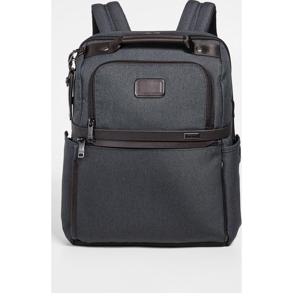 (取寄)トゥミ アルファ アルファ スリム ソリュージョンズ ブリーフ バックパック Tumi Alpha Slim Solutions Brief Backpack Anthracite