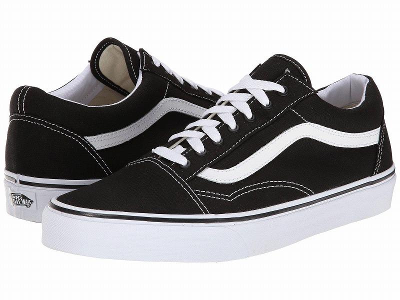 (取寄)Vans(バンズ) スニーカー オールド スクール ユニセックス メンズ レディース Vans Unisex Old Skool  (Canvas) Black/True White