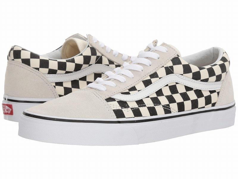 (取寄)Vans(バンズ) スニーカー オールド スクール ユニセックス メンズ レディース Vans Unisex Old Skool  (Checkerboard) White/Black