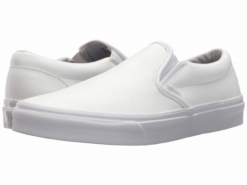(取寄)Vans(バンズ) スニーカー クラシック スリップーオン メンズ Vans Men's Classic Slip-On (Classic Tumble) True White