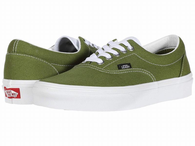 (取寄)Vans(バンズ) スニーカー エラ ユニセックス メンズ レディース Vans Unisex Era  (Retro Sport) Calla Green/True White