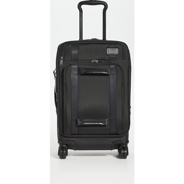 (取寄)トゥミ マージ マージ インターナショナル インターナショナル フロント リッド 4 ホイールド キャリー オン Tumi Merge International Front Lid 4 Wheeled Carry On Black