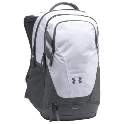(取寄)アンダーアーマー チーム ハッスル 3.0 バックパック Underarmour Team Hustle 3.0 Backpack White Grey Grey