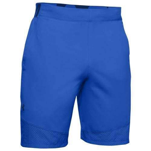 (取寄)アンダーアーマー メンズ バニッシュ ウーブン ショーツ Underarmour Men's Vanish Woven Shorts Versa Blue American Blue