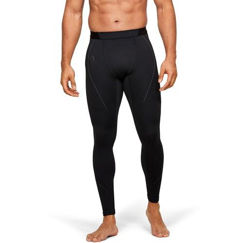 (取寄)アンダーアーマー メンズ ラッシュ シームレス コンプレッション レギンス Underarmour Men's Rush Seamless Compression Leggings Black Black