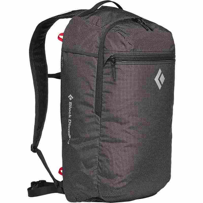 (取寄)ブラックダイヤモンド ユニセックス トレイル ジップ 18 バックパック Black Diamond Men's Trail Zip 18 Backpack Black