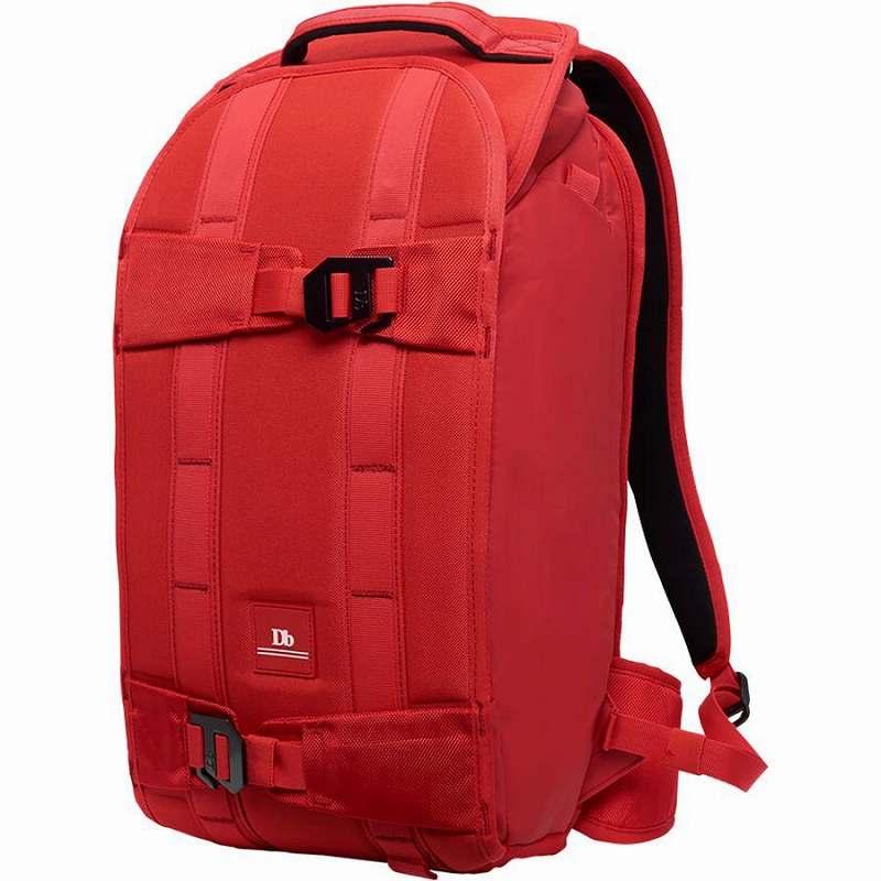 (取寄)Db ユニセックス ザ エクスプローラ バックパック Db Men's The Explorer Backpack Scarlet Red