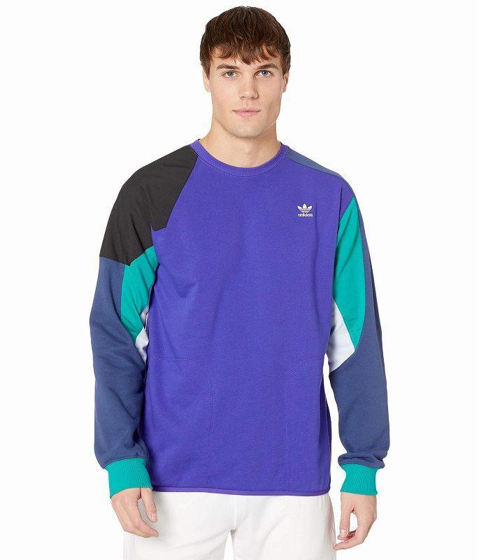 (取寄)アディダス オリジナルス メンズ アディダス オリジナル ファウンデーション  トレーナー adidas originals Men's adidas Originals Foundation Sweatshirt Energy Ink