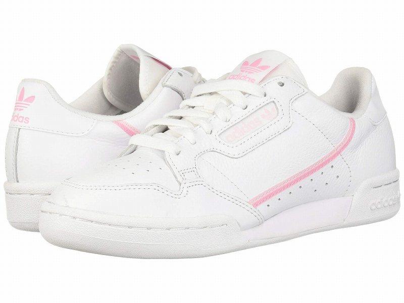 (取寄)アディダス オリジナルス レディース アディダス オリジナル コンチネンタル 80 adidas originals Women adidas Originals Continental 80 Footwear White/True Pink/Clear Pink