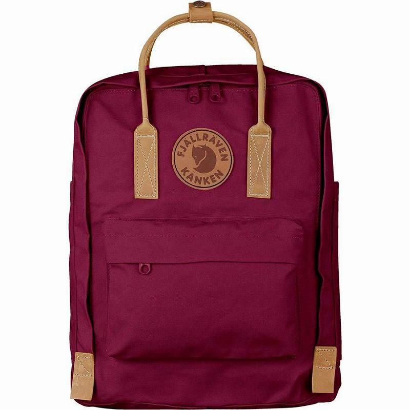 (取寄) フェールラーベン ユニセックス カンケン No.216L バックパック Fjallraven Men's Kanken No.2 16L Backpack Plum