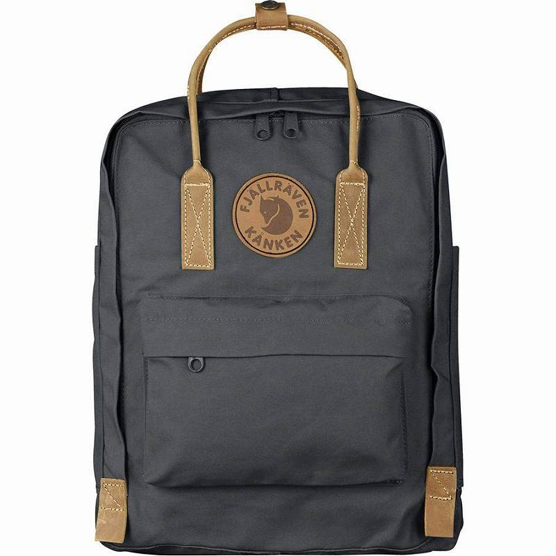 (取寄) フェールラーベン ユニセックス カンケン No.216L バックパック Fjallraven Men's Kanken No.2 16L Backpack Super Grey
