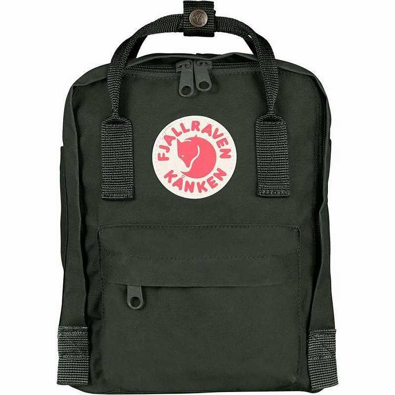 (取寄) フェールラーベン ユニセックス カンケン ミニ 7L バックパック Fjallraven Men's Kanken Mini 7L Backpack Deep Forest