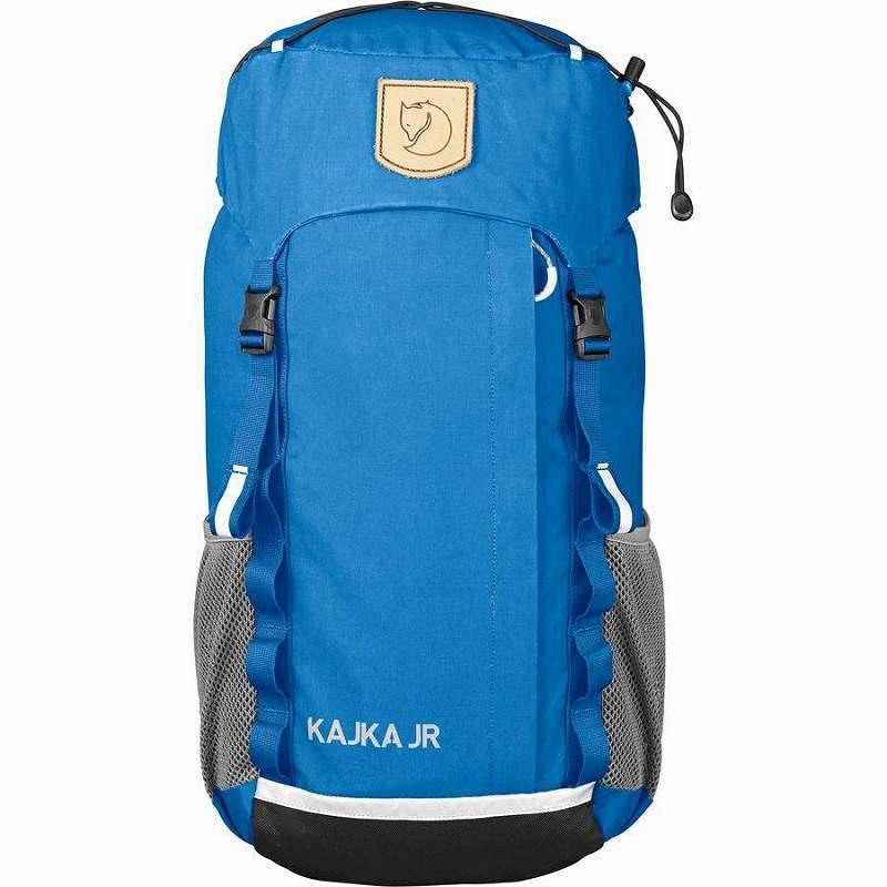 (取寄) フェールラーベン キッズ カイカ Jr. 20L バックパック Fjallraven Men's Kajka Jr. 20L Backpack Un Blue