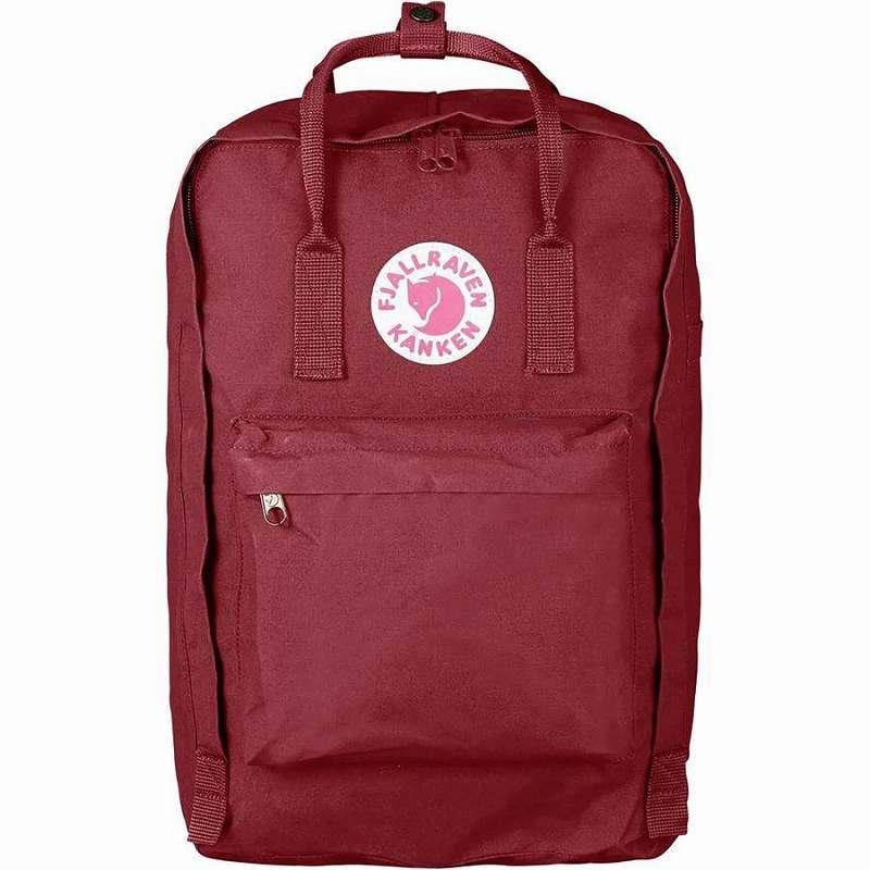 (取寄) フェールラーベン ユニセックス カンケン ラップトップ 17in バックパック Fjallraven Men's Kanken Laptop 17in Backpack Ox Red