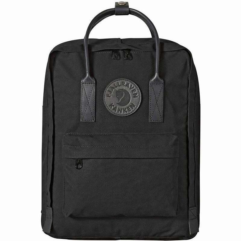 (取寄) フェールラーベン キッズ カンケン No.2ブラック ミニ バックパック Fjallraven Men's Kanken No.2 Black Mini Backpack Black