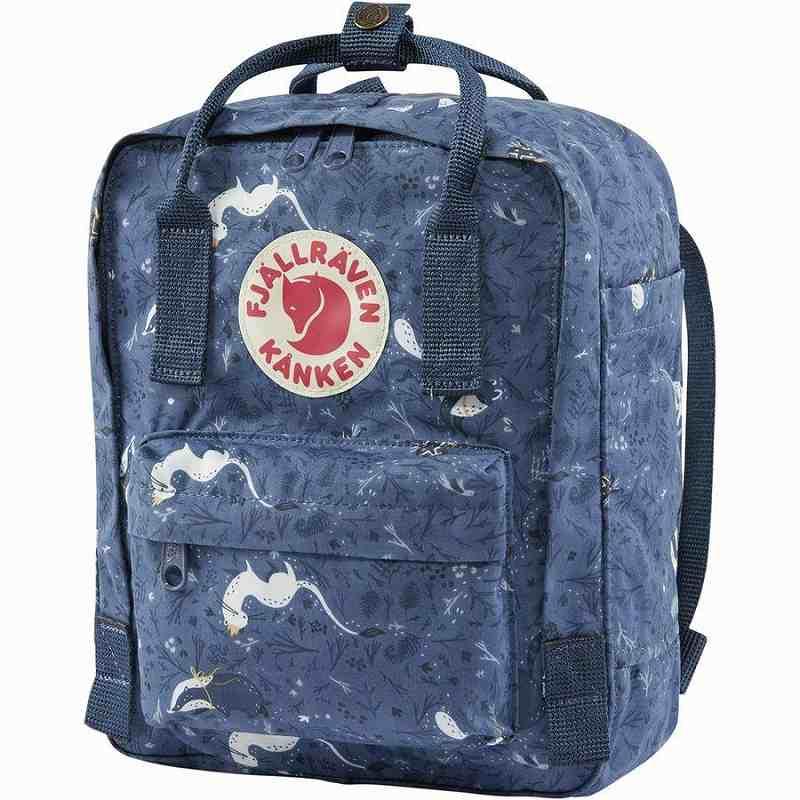 (取寄) フェールラーベン ユニセックス カンケン アート ミニ 7L バックパック Fjallraven Men's Kanken Art Mini 7L Backpack Blue Fable