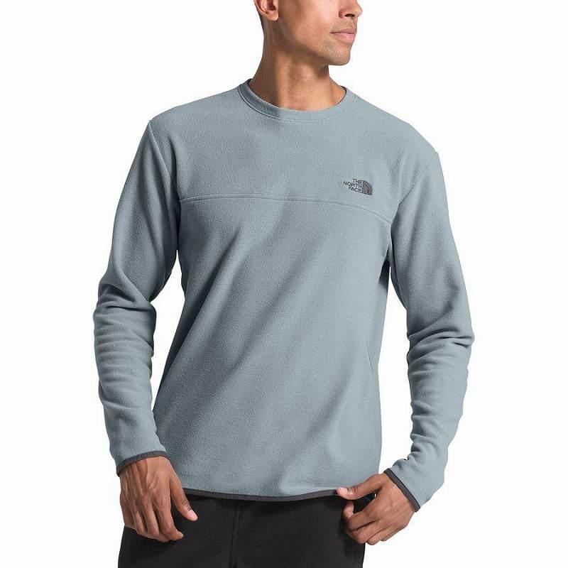【エントリーでポイント10倍】(取寄)ノースフェイス メンズ グレイシャー クルー トレーナー プルオーバー The North Face Men's Glacier Crew Sweatshirt Pullover Mid Grey/Mid Grey