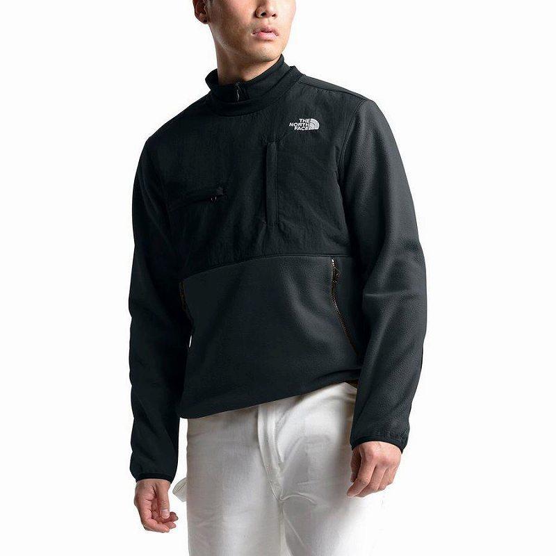 【エントリーでポイント10倍】(取寄)ノースフェイス メンズ デナリ クルー シャツ The North Face Men's Denali Crew Shirt Tnf Black