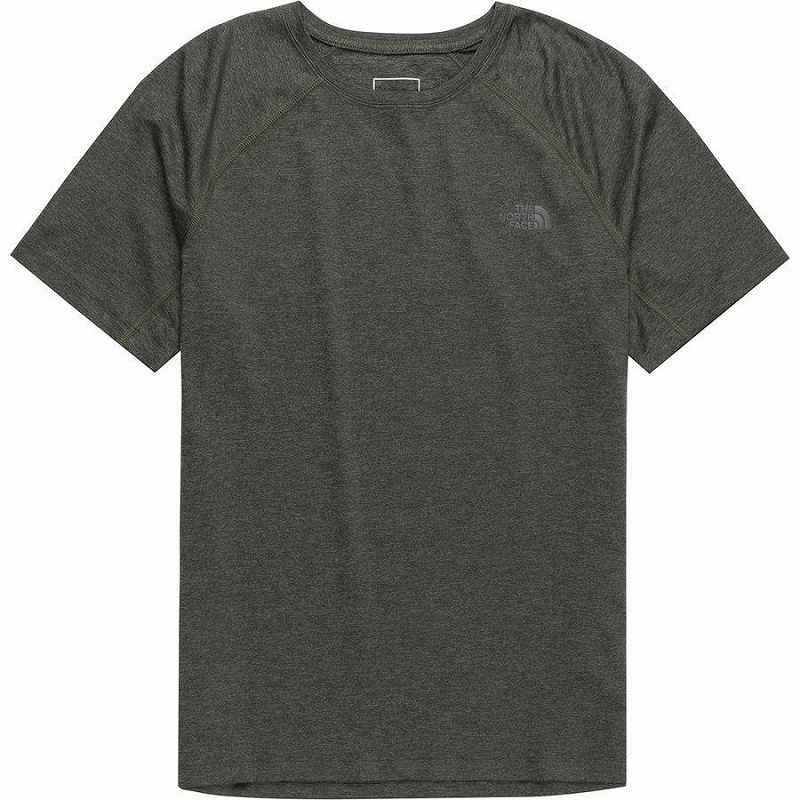【エントリーでポイント10倍】(取寄)ノースフェイス メンズ ハイパーレイヤー FDショート スリーブ シャツ The North Face Men's Hyperlayer FD Short Sleeve Shirt New Taupe Green Heather