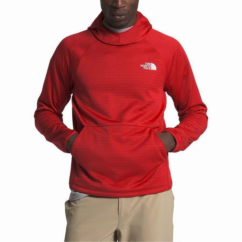 【エントリーでポイント10倍】(取寄)ノースフェイス メンズ エコー ロック プルオーバー パーカー The North Face Men's Echo Rock Hoodie Pullover Pompeian Red