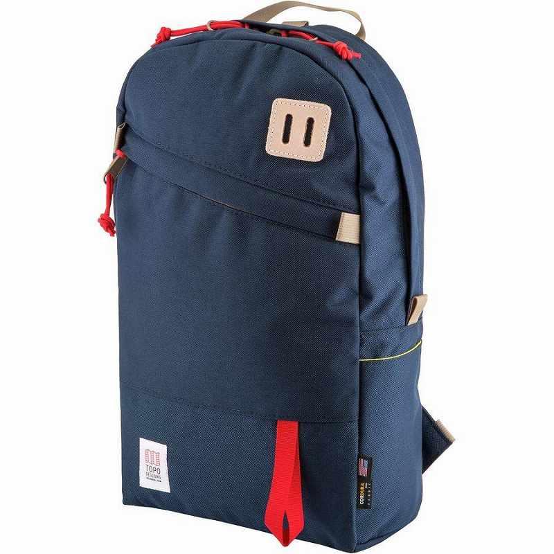 (取寄)トポデザイン ユニセックス デイパック 20L バックパック Topo Designs Men's Daypack 20L Backpack Navy