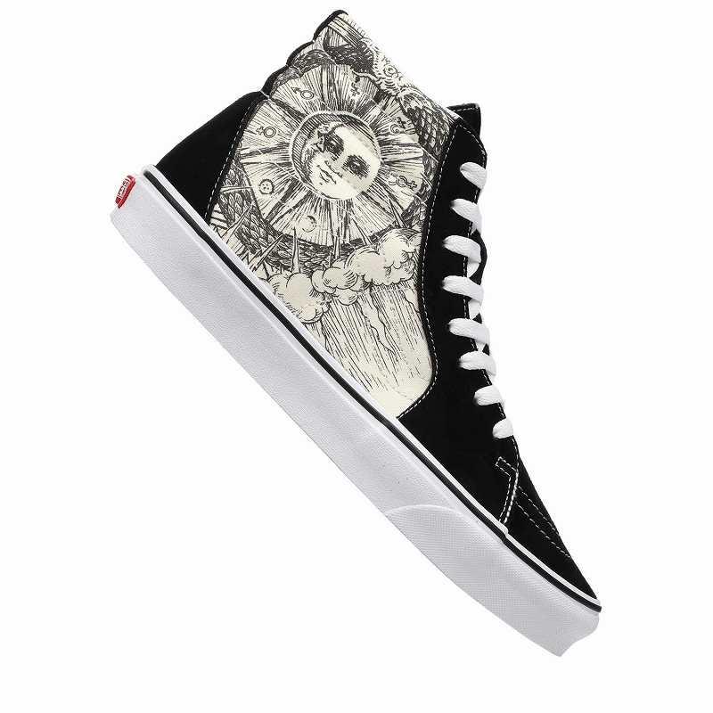 (取寄)Vans(バンズ) スニーカー スケート ハイ ユニセックス メンズ レディース Vans Unisex SK8 Hi (Ouroboros) Black/True White