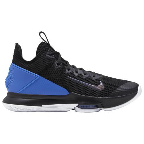(取寄)ナイキ メンズ シューズ レブロン ウィットネス 4 Nike Men's Shoes LeBron Witness 4 Black Hyper Cobalt White
