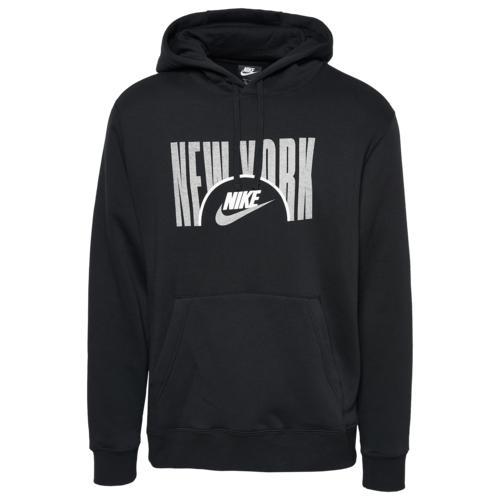 【エントリーでポイント10倍】(取寄)ナイキ メンズ シティ フォース プルオーバー フーディ Nike Men's City Force Pullover Hoodie Black Grey White