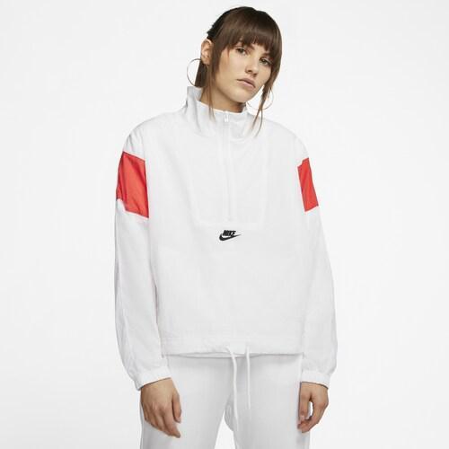 (取寄)ナイキ レディース ヘリテージ ウーブン ジャケット Nike Women's Heritage Woven Jacket White Red White