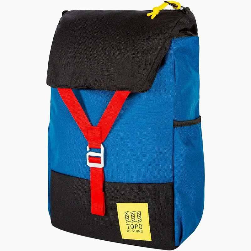 (取寄)トポデザイン ユニセックス Y-Pack 17L バックパック Topo Designs Men's Y-Pack Backpack Blue/Black