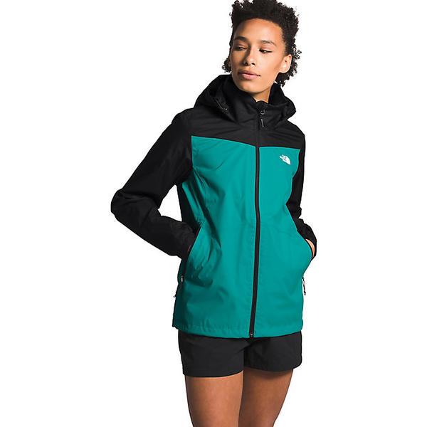 (取寄)ノースフェイス レディース リゾルブ プラス ジャケット The North Face Women's Resolve Plus Jacket Jaiden Green/TNF Black