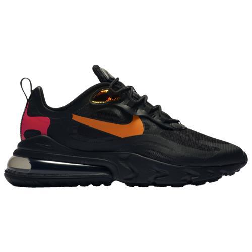 (取寄)ナイキ メンズ シューズ エア マックス 270 リアクト Nike Men's Shoes Air Max 270 React Black Magma Orange University Red