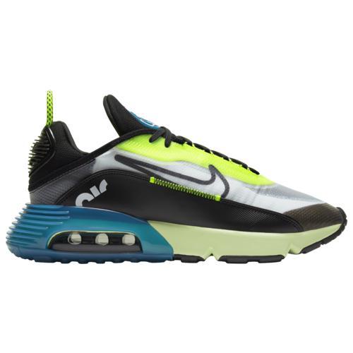 (取寄)ナイキ メンズ シューズ エア マックス 2090 Nike Men's Shoes Air Max 2090 White Black Volt Valerian Blue