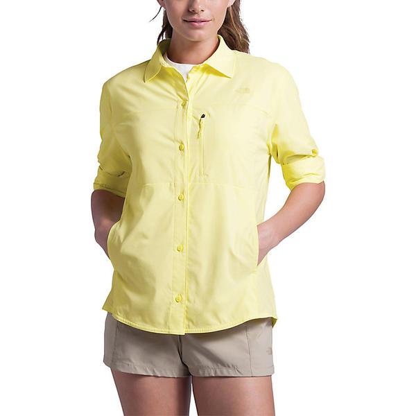 (取寄)ノースフェイス レディース アウトドア トレイル LS シャツ The North Face Women's Outdoor Trail LS Shirt Stinger Yellow
