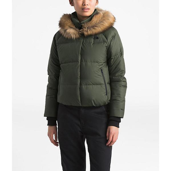 (取寄)ノースフェイス レディース ディリオ ダウン クロップ ジャケット The North Face Women's Dealio Down Crop Jacket New Taupe Green
