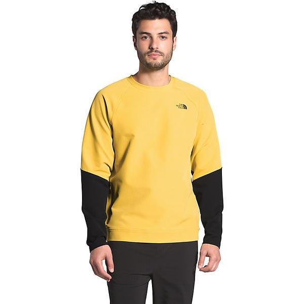 【エントリーでポイント10倍】(取寄)ノースフェイス メンズ テクノ リッジ クルー The North Face Men's Tekno Ridge Crew Bamboo Yellow / TNF Black