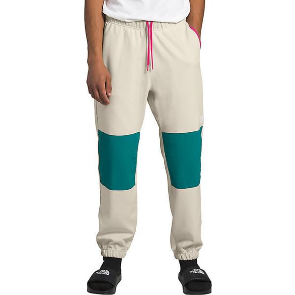 【エントリーでポイント10倍】(取寄)ノースフェイス メンズ グラフィック コレクション フリース パンツ The North Face Men's Graphic Collection Fleece Pant Vintage White / Fanfare Green / Mr. Pink