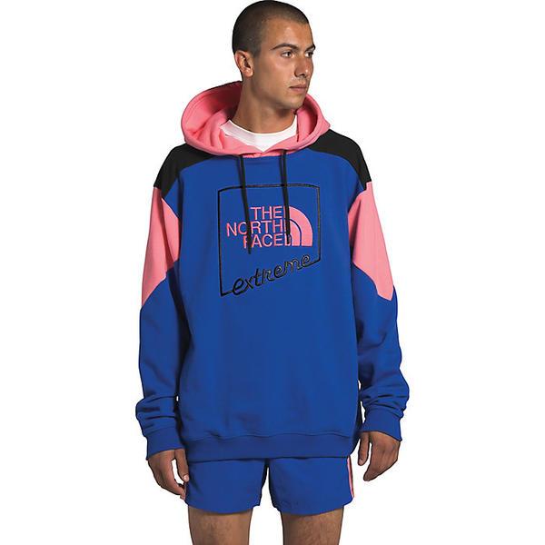 【エントリーでポイント10倍】(取寄)ノースフェイス メンズ エクストリーム プルオーバー フーディ The North Face Men's Extreme Pullover Hoodie TNF Blue / Miami Pink / TNF Black