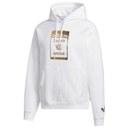 【エントリーでポイント10倍】(取寄)アディダス メンズ オリジナルス スーパースタン フーディ Men's adidas Originals Superstan Hoodie White Gold