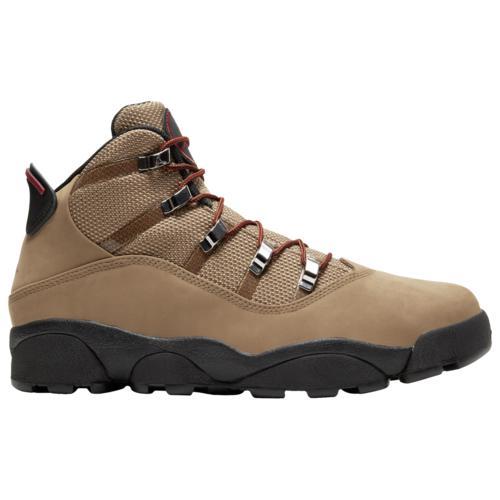【マラソン ポイント10倍】(取寄)ジョーダン メンズ シューズ 6 リング ウィンターライズド Jordan Men's Shoes 6 Rings Winterized Wheat Black Red